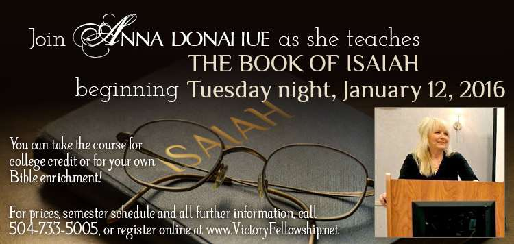 Join Anna Donahue as she teaches The Book of Isaiah