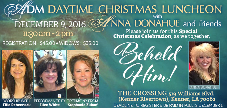 Join Anna Donahue and friends for Christmas!