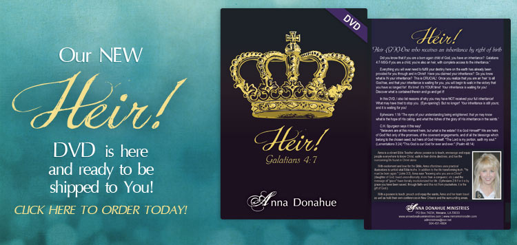 Our new 'Heir' DVD is here and ready to be shipped to  you!