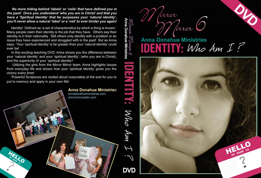 "MM6 DVD Cover ""Identity: Who Am I?"""