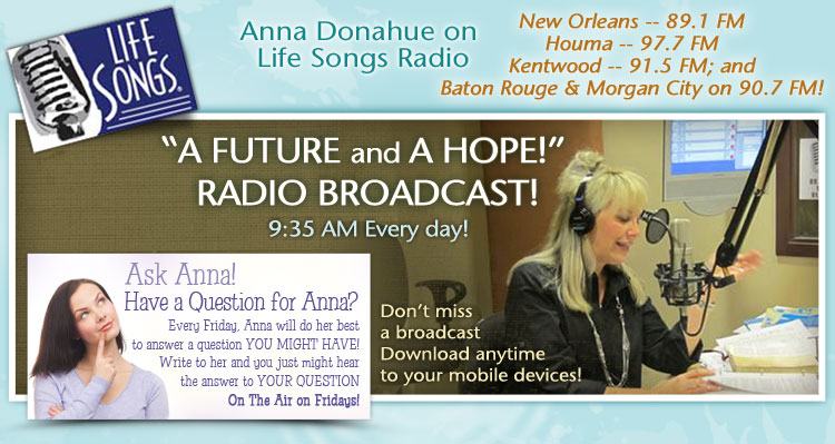 Anna Donahue on Life Songs Radio