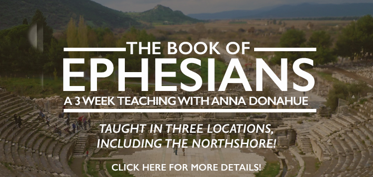 Coming This Fall! 3-week Teaching on The Book of Ephesians!