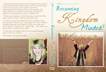 Becoming Kingdom Minded Teaching 3 CD Set